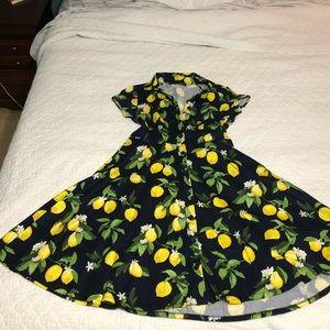 Chetta B Lemon Dress